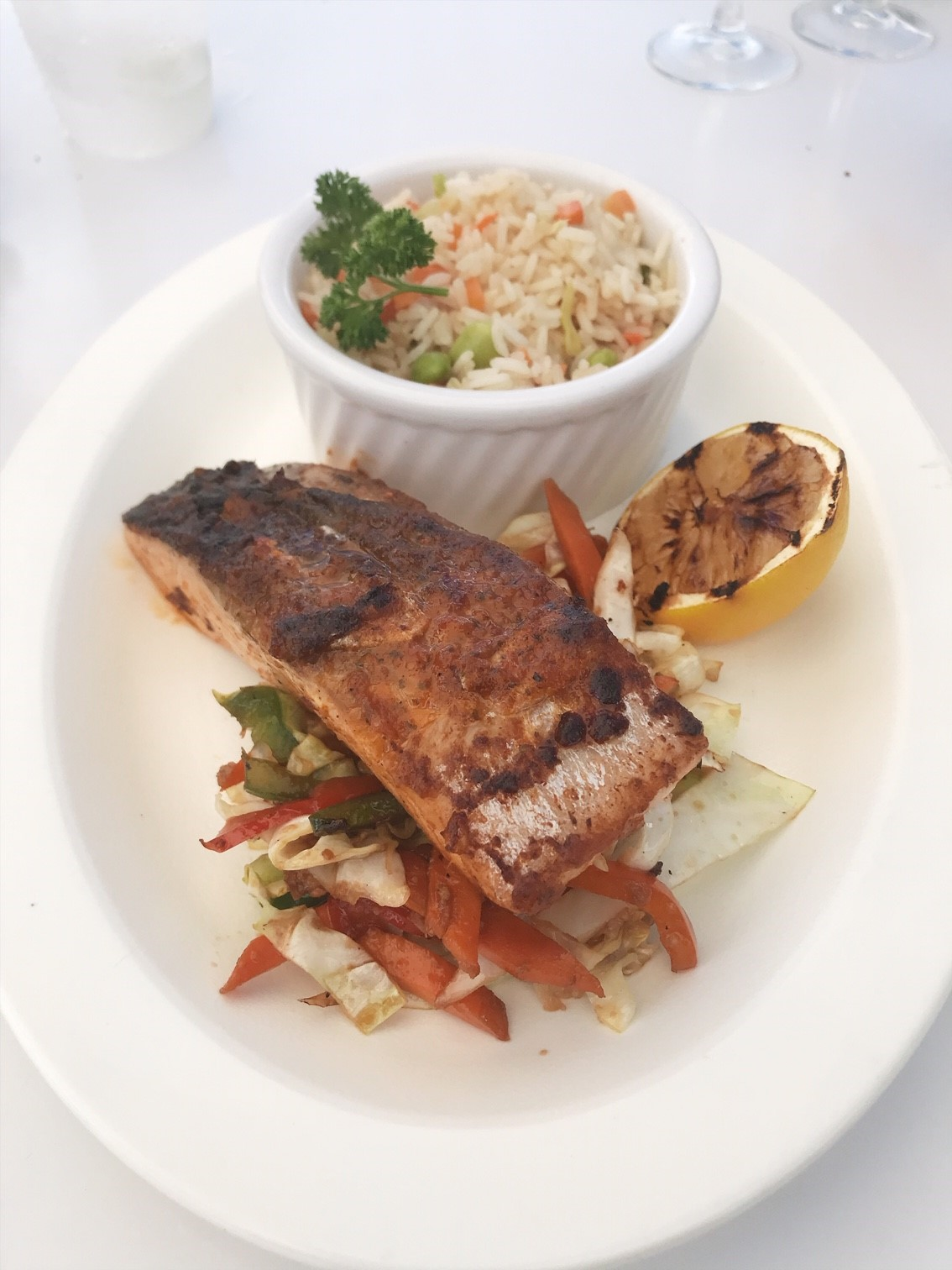 BVI Restaurant Guide - Where to eat in the British Virgin Islands. Lunch at Top of the Baths