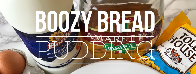 3-Minute Boozy Bread Pudding