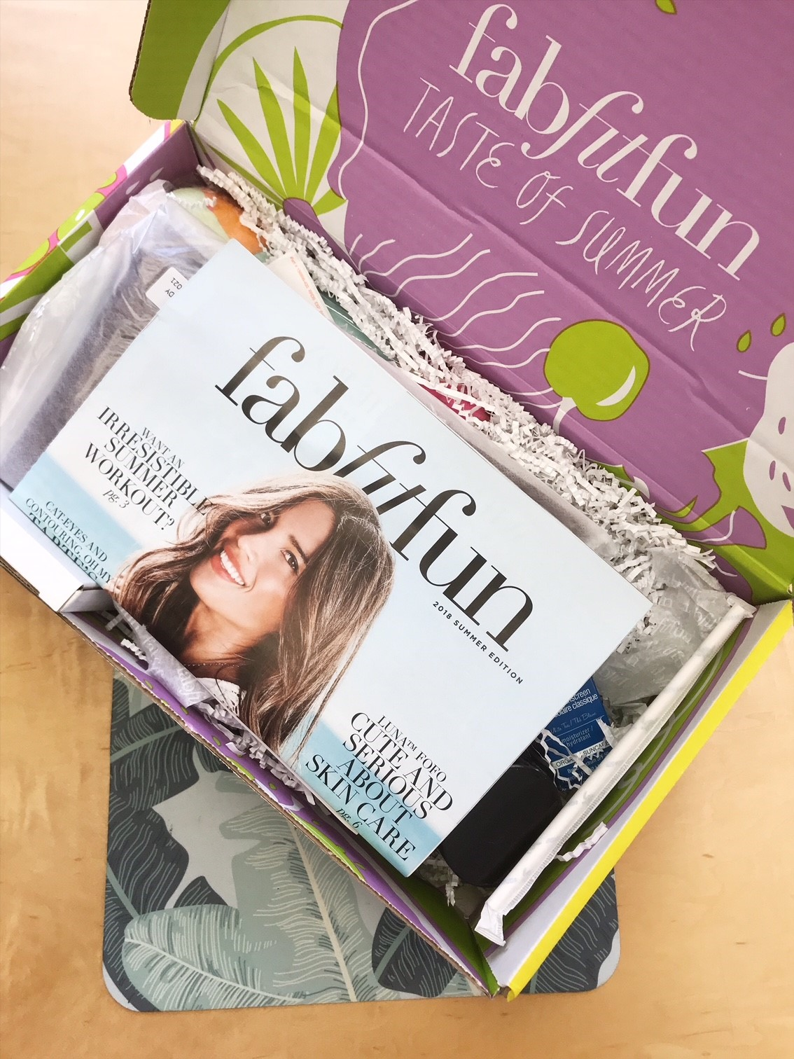 What's inside my FabFitFun Summer Box?