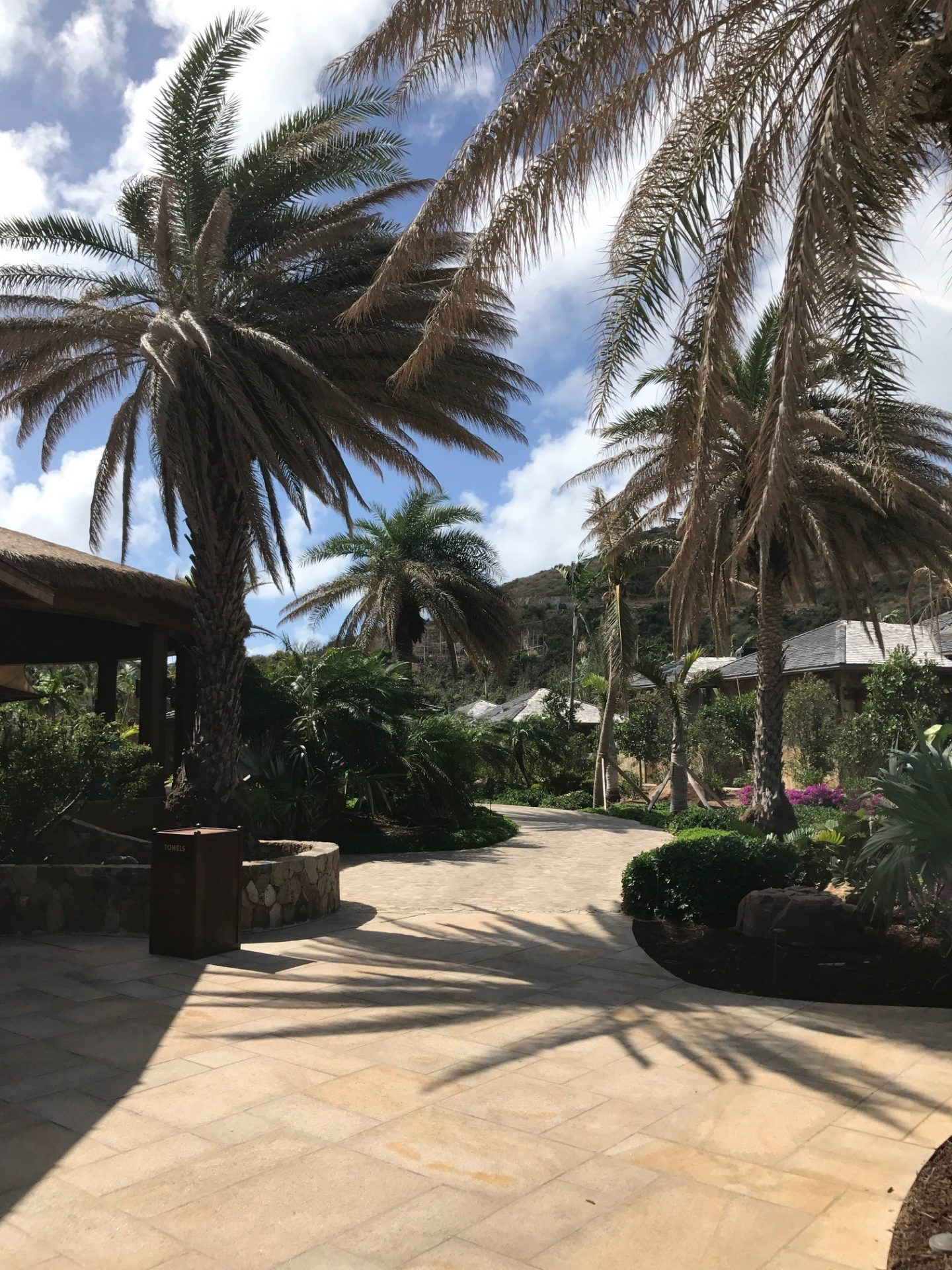 A sneak peek inside Oil Nut Bay in the British Virgin Islands. One of the most exclusive and beautiful beach resorts in the Caribbean.