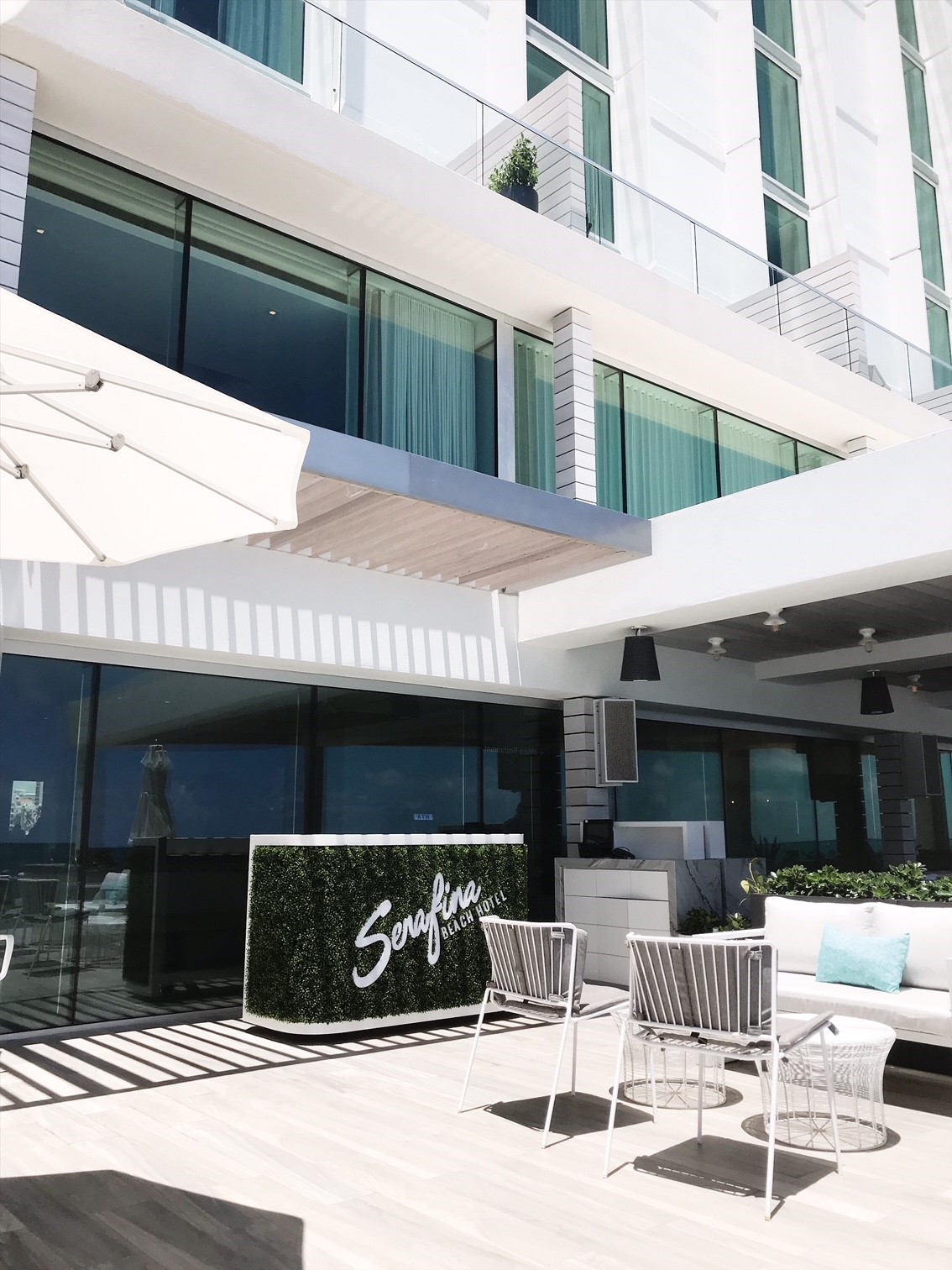 Serafina Beach Hotel review - Luxury Beachfront Hotel in San Juan, Puerto Rico.