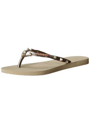 Studded Flip Flops