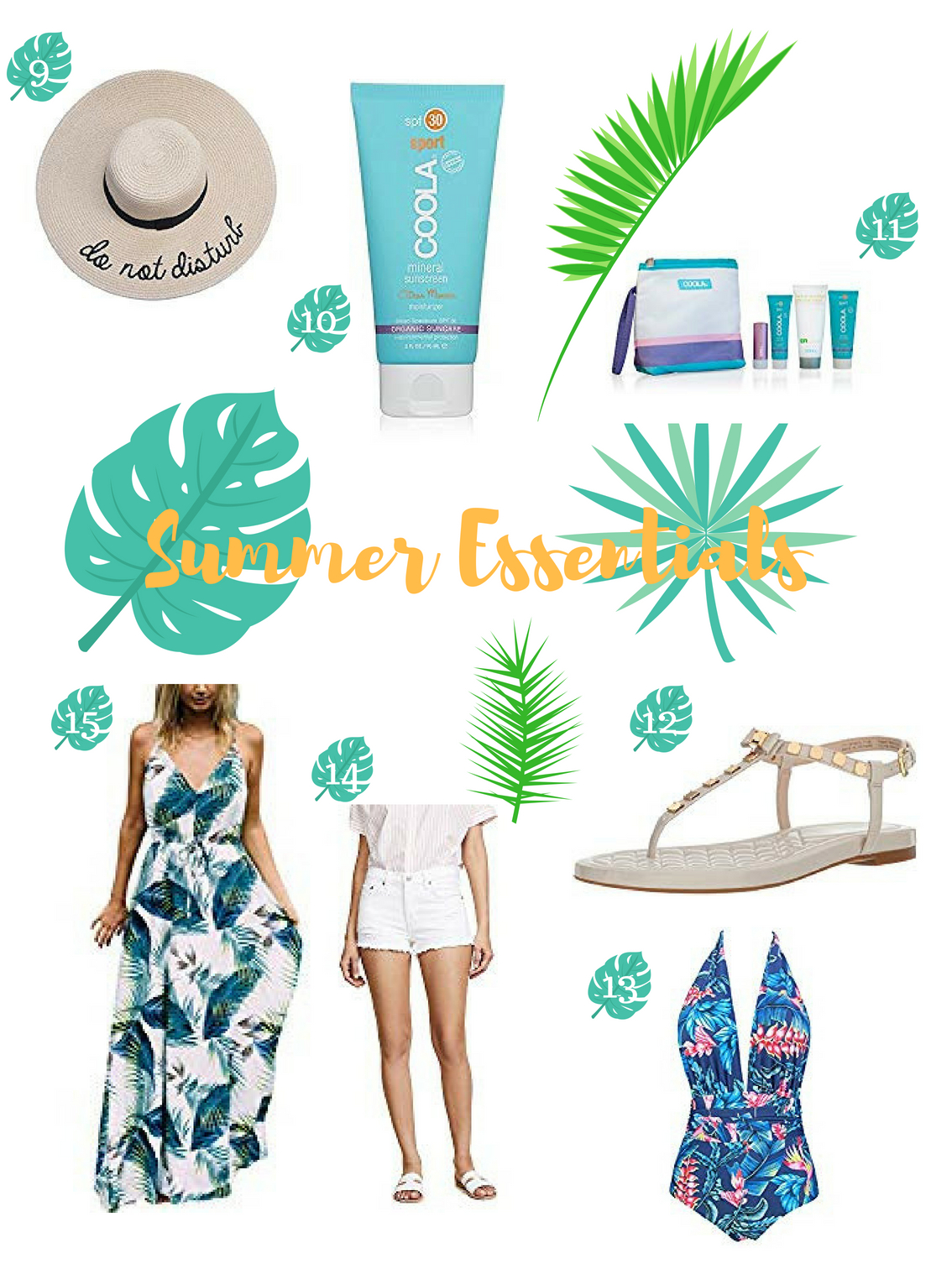 Summers Essentials - Beach and Holiday Style Post