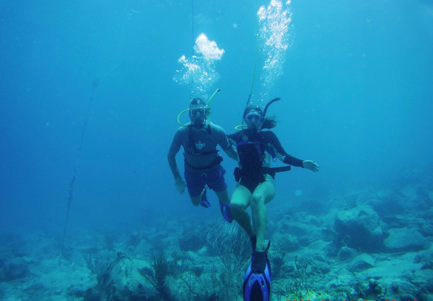 Underwater exploration with The Barefoot Angel and BVI Snuba - see more of the British Virgin Islands