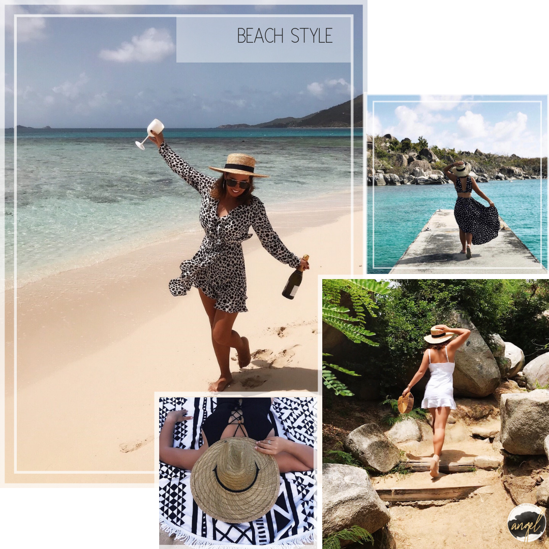 Beach Style with The Barefoot Angel - beautiful holiday wardrobe options
