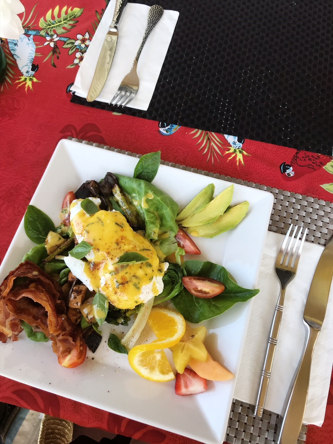 Brunch at Captain's Kitchen BVI - Farm fresh and delicious dishes
