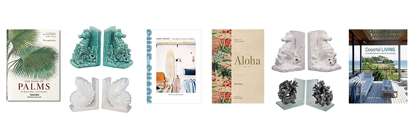 Island Interior Inspiration - Glossy Tropical Coffee Table Books