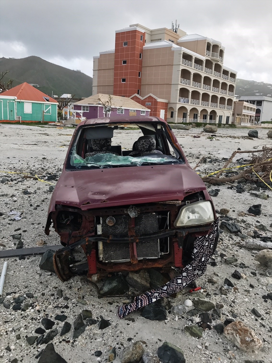 Houses, businesses, cars destroyed in the BVI following hurricane Irma
