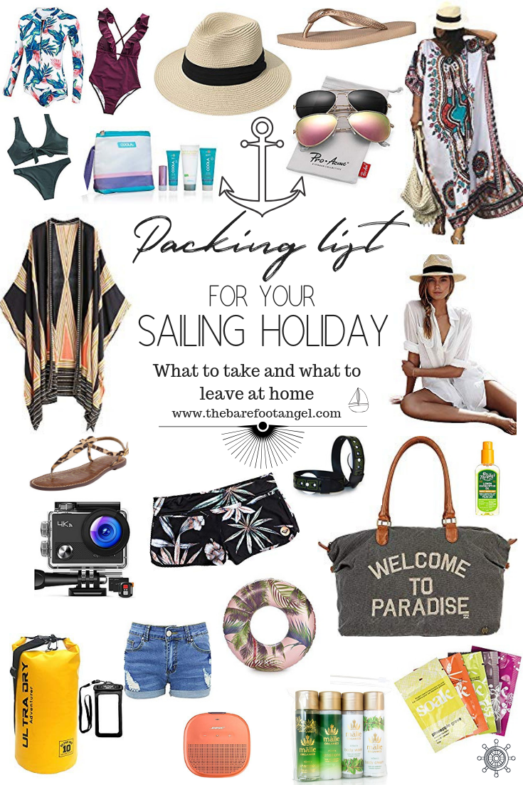 What to Pack for your Sailing Vacation