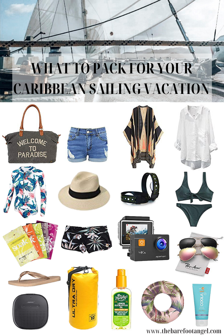 What to Pack for your Caribbean Sailing Vacation