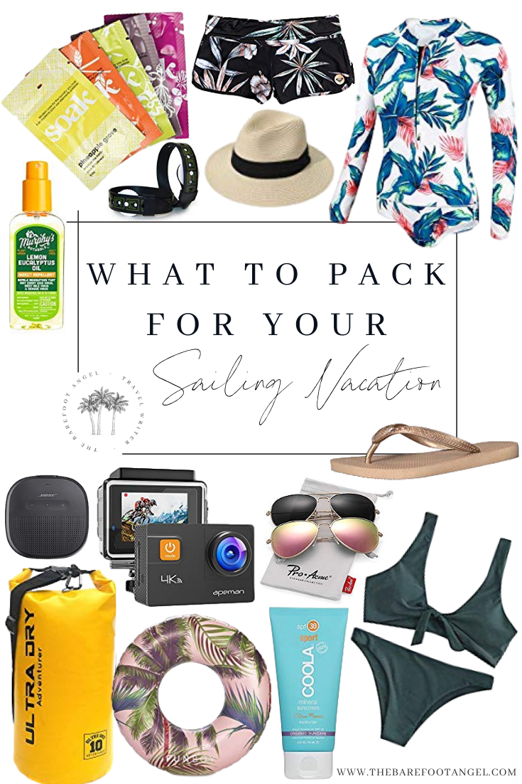 What to Pack on your sailing vacation