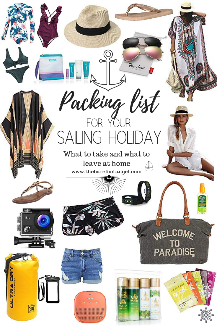 What to Pack for your Sailing Vacation - What to Bring and What to Leave at Home! The Ultimate Packing List for your Sailing Trip