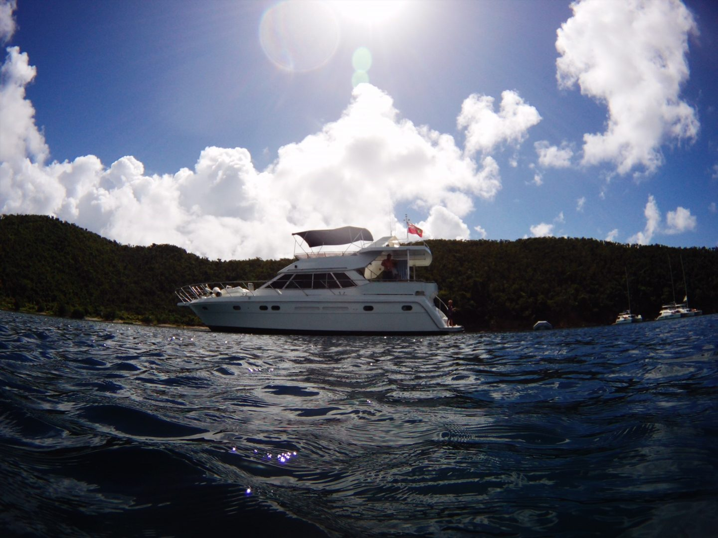Explore the British Virgin Islands by boat with Virgin Motor Yacht Charters
