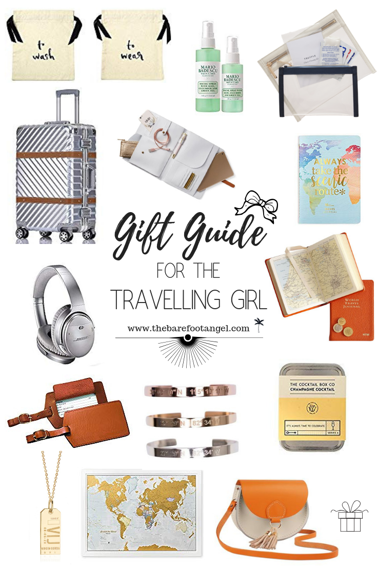Gift Guide for the Travelling Girl