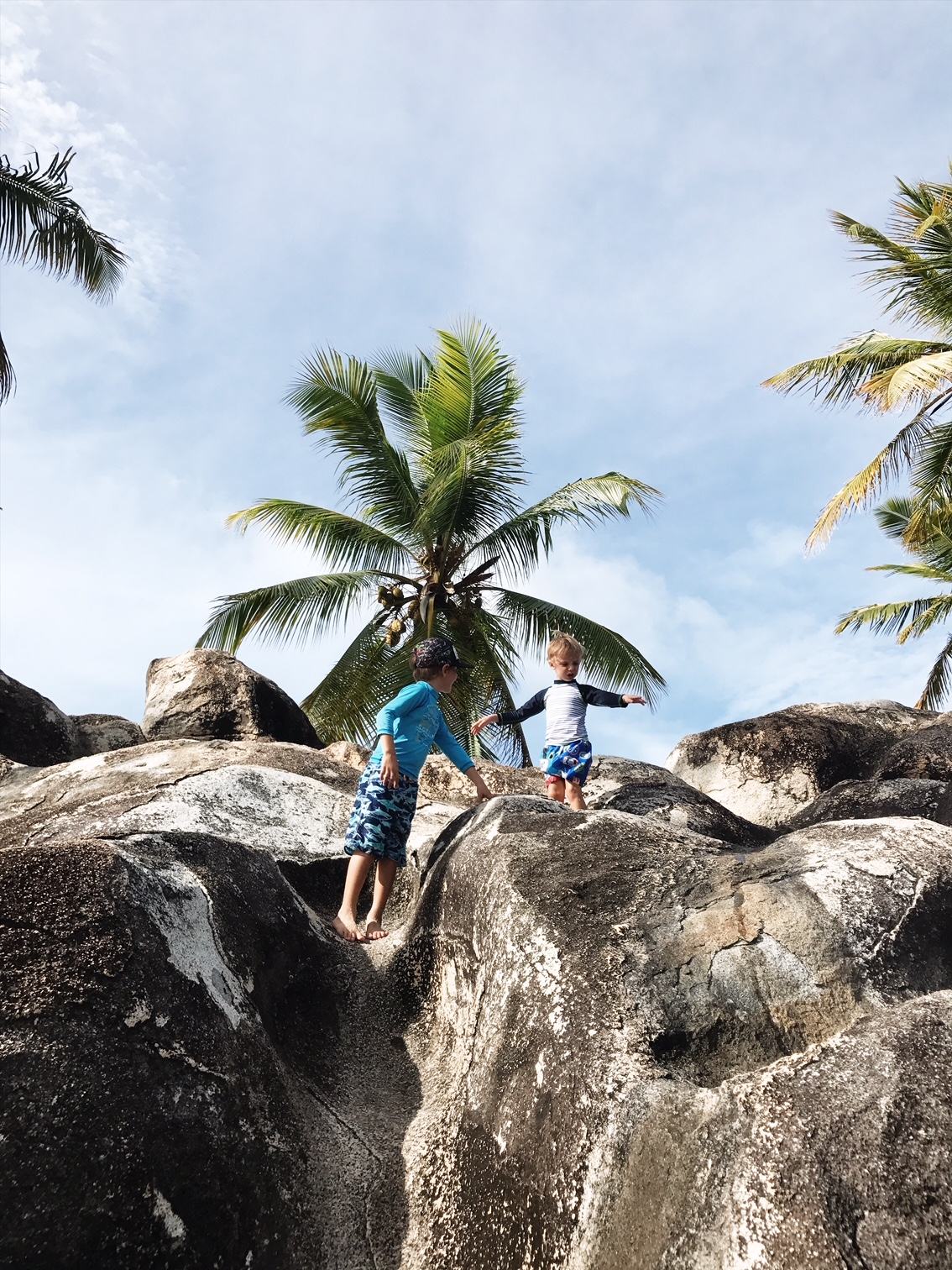 Top 10 Family Activities in the BVI - What to do with your kids on your British Virgin Islands Vacation. Exploring the Baths and Spring Bay
