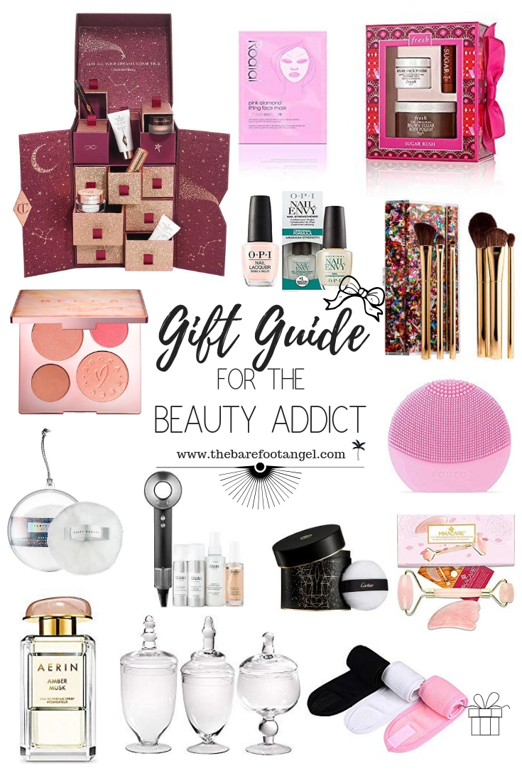 Gift Guide for the Beauty Addict - Christmas treats for the Beauty Junkie in your life