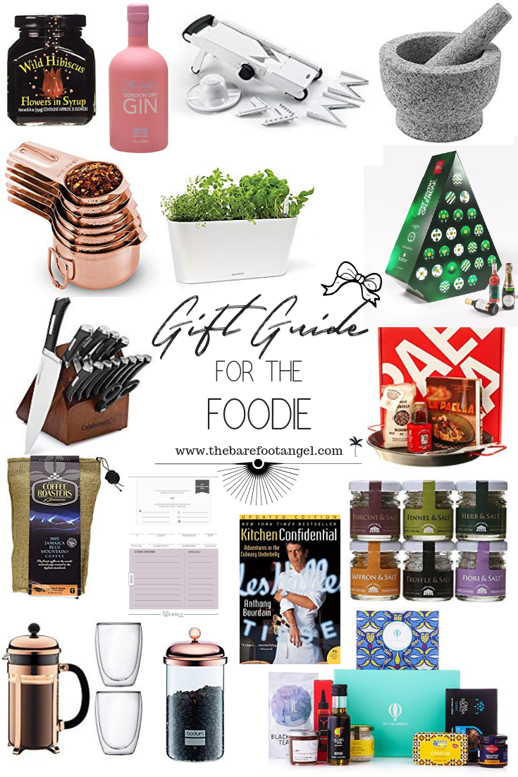 Gift Guide for the Foodie in your life - beautifully handpicked foodie favourites