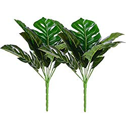 Faux Monstera Leaves