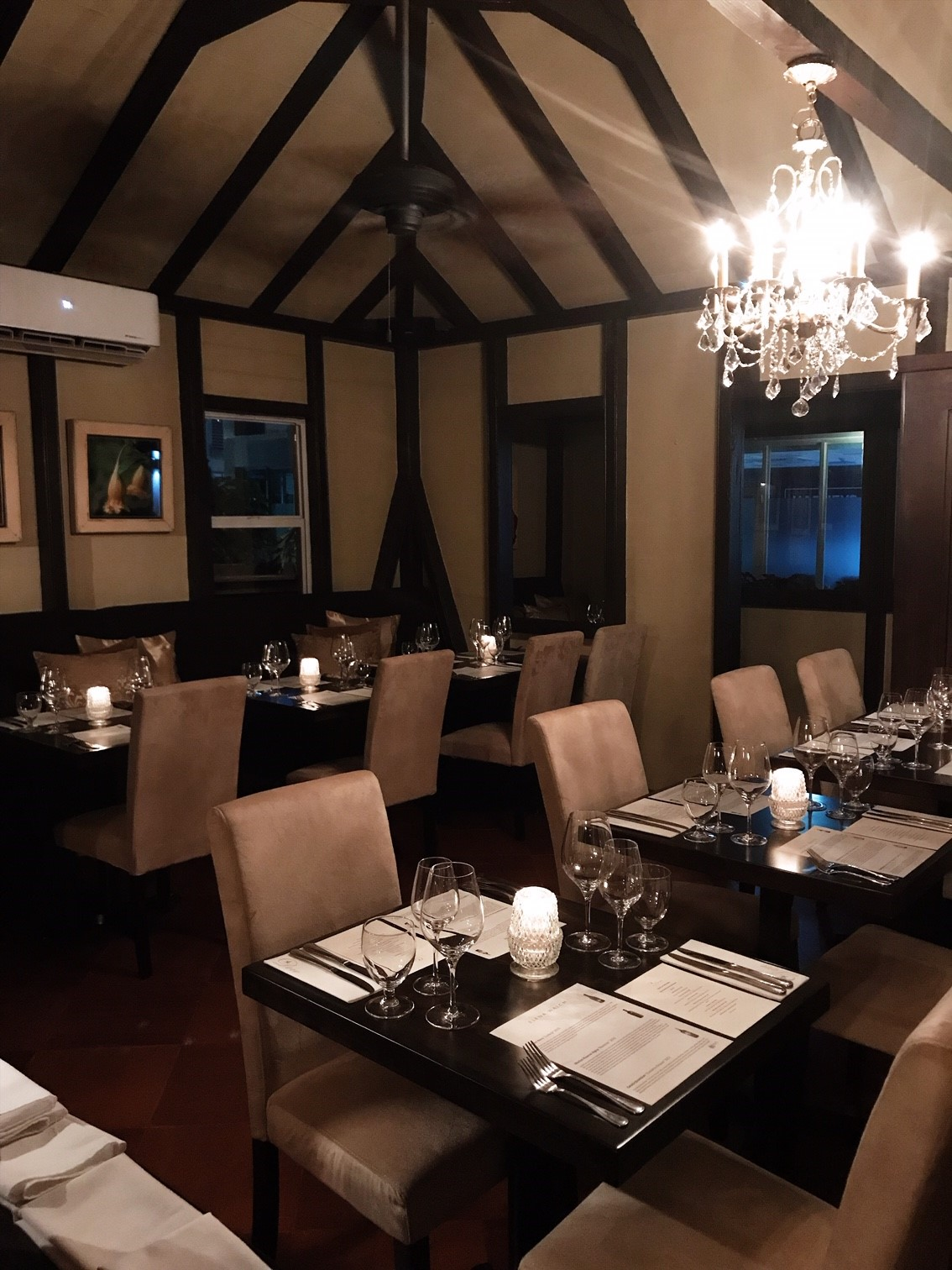 Elena Walch Wine Tasting Dinner at the Dove - beautiful Road Town Restaurant