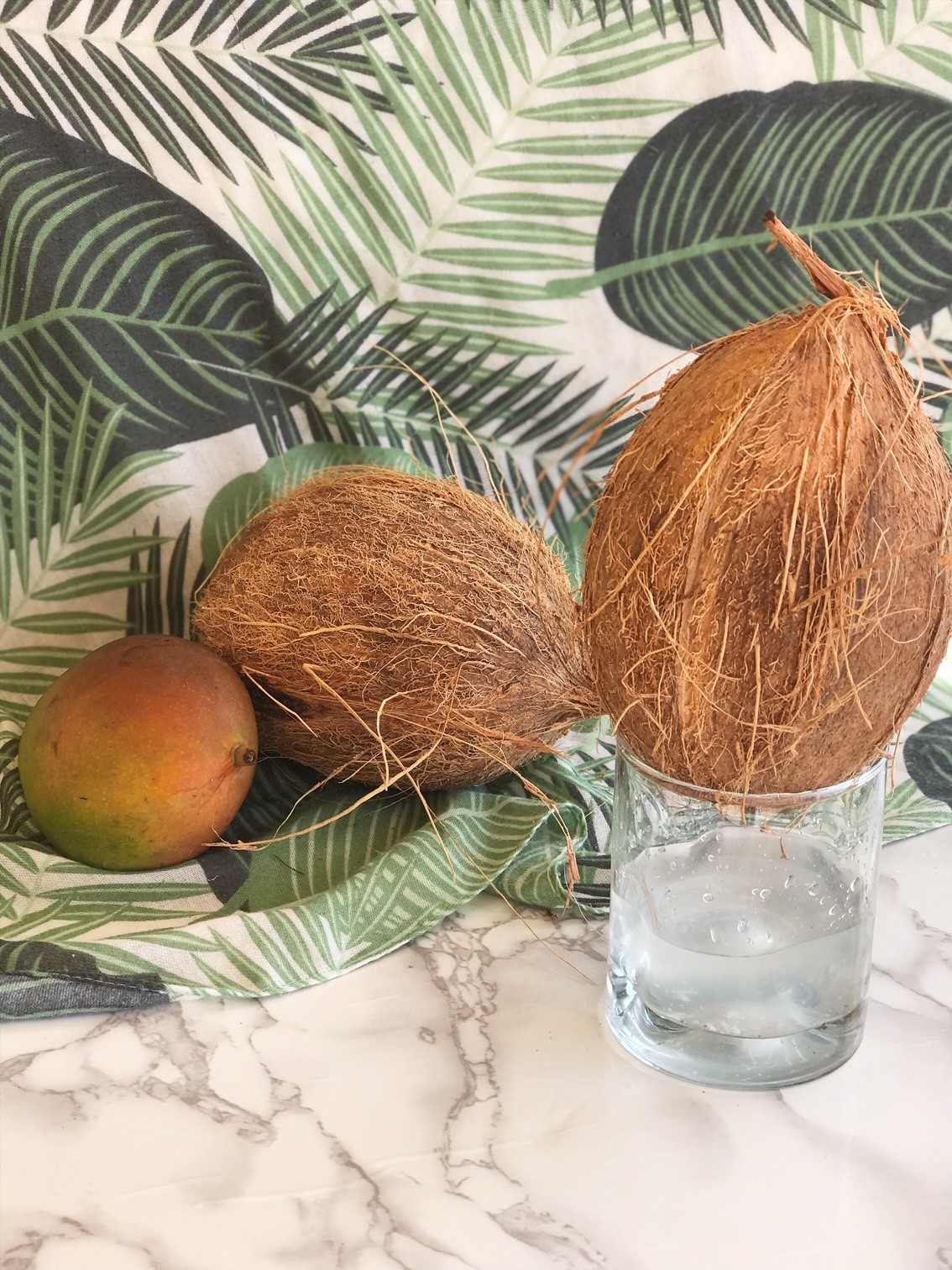 Double Chocolate Coconut Bowl Recipe - How to get into your Coconut - Extracting the Coconut Water