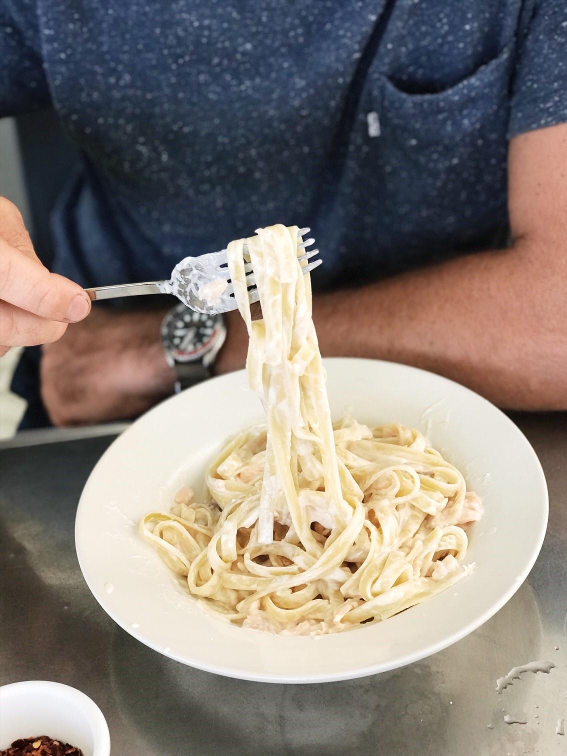 Where to go in Road Town - Fresh Pasta at Capriccio's