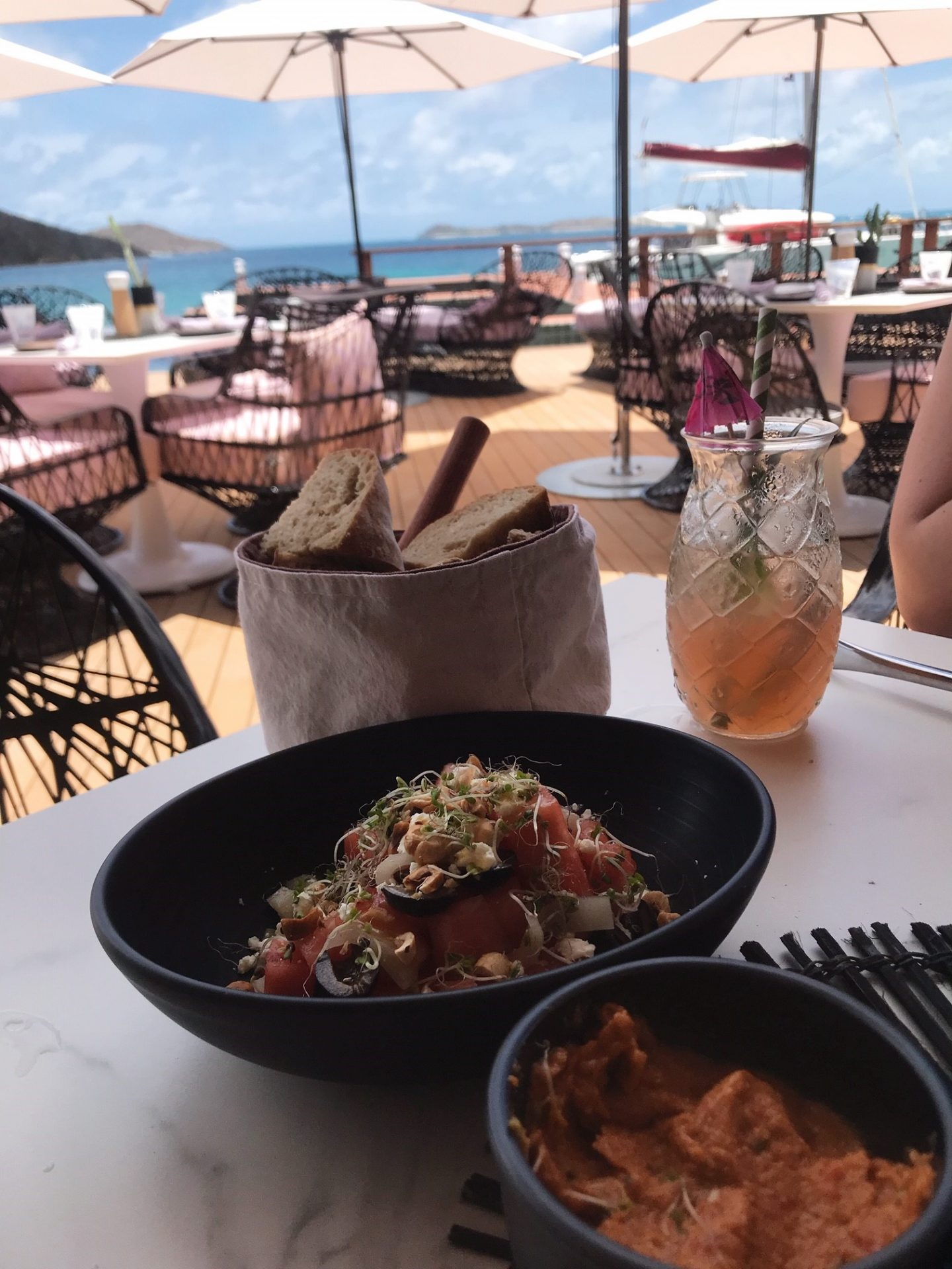 Nova Restaurant at Oil Nut Bay, Virgin Gorda - British Virgin Islands