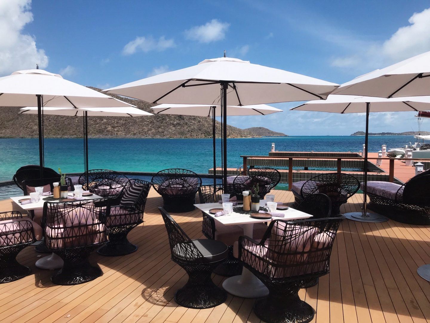What's New on Virgin Gorda - Nova Restaurant and Marina Facilities at Oil Nut Bay