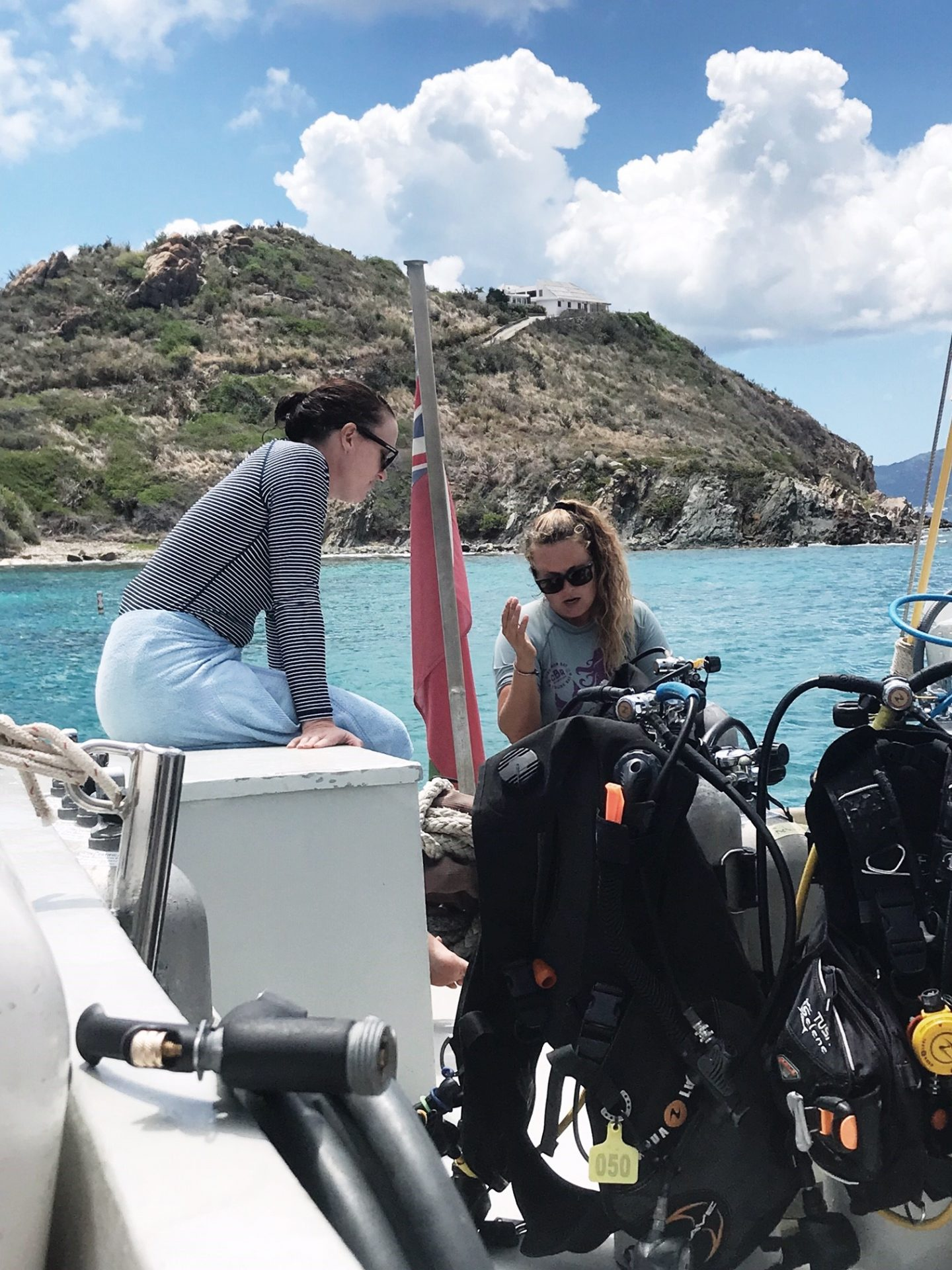 Diving aboard Cuan Law - Exploring the British Virgin Islands