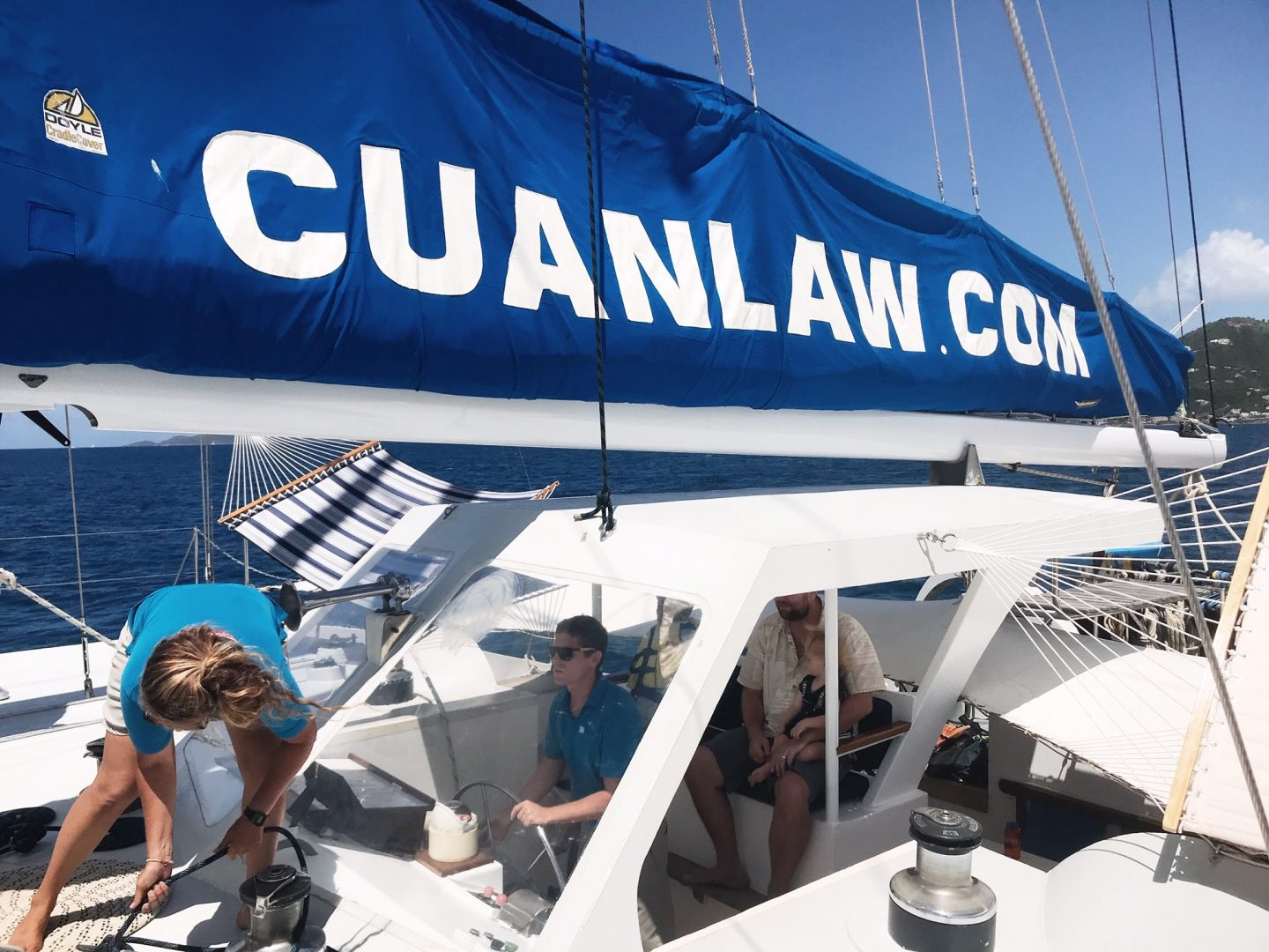 BVI Sailing - Exploring the British Virgin Islands on board Cuan Law trimaran