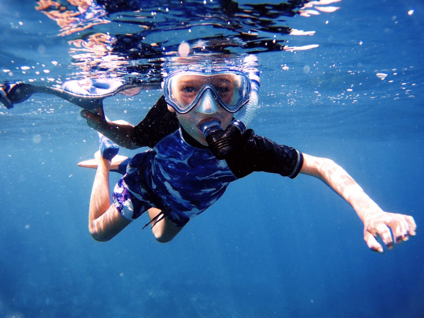 Snorkeling the British Virgin Islands - fun for all the family