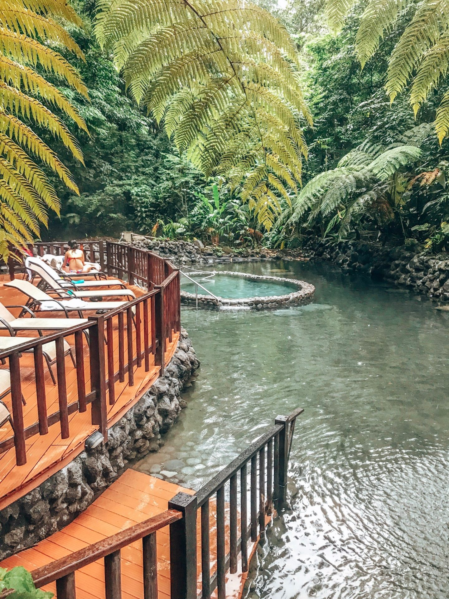 Hot Springs at La Fortuna, Costa Rica