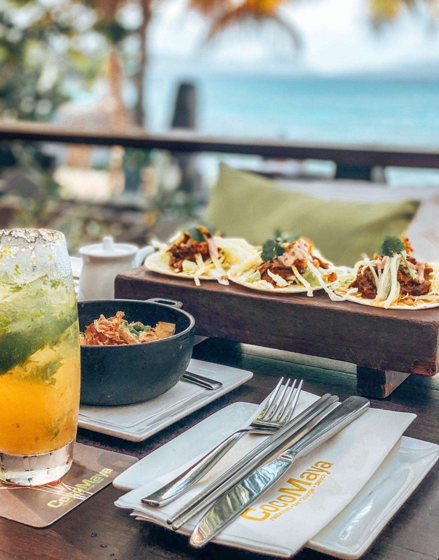 CocoMaya - Virgin Gorda, British Virgin Islands. Latin Asian Fusion Restaurant