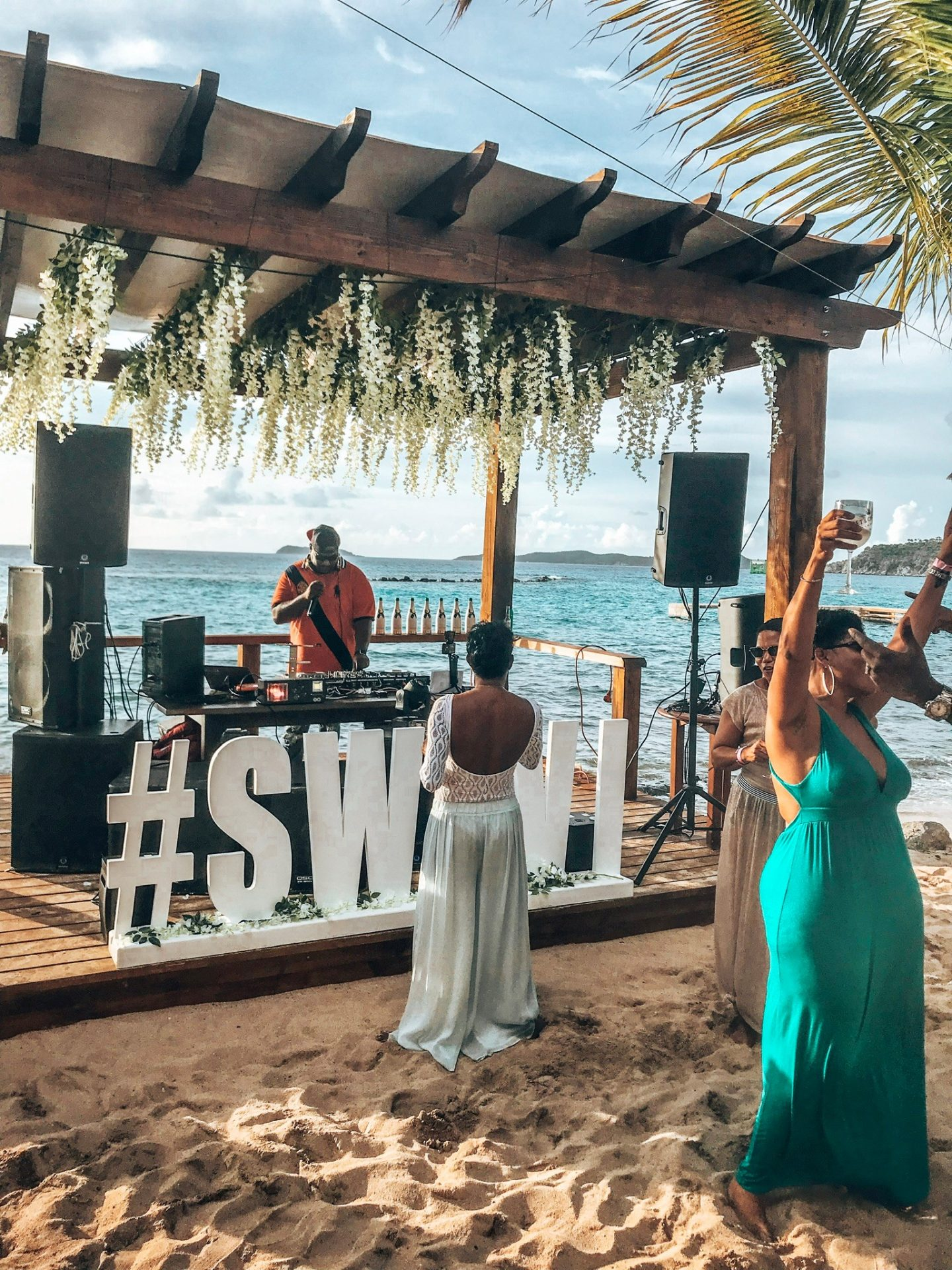 CocoMaya - Virgin Gorda, British Virgin Islands. Hosts some of the hottest events of the year