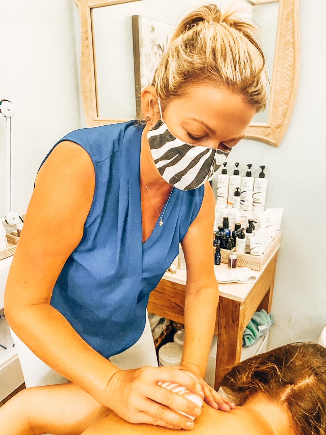 Massage Treatment at Spa and Sparkle, British Virgin Islands