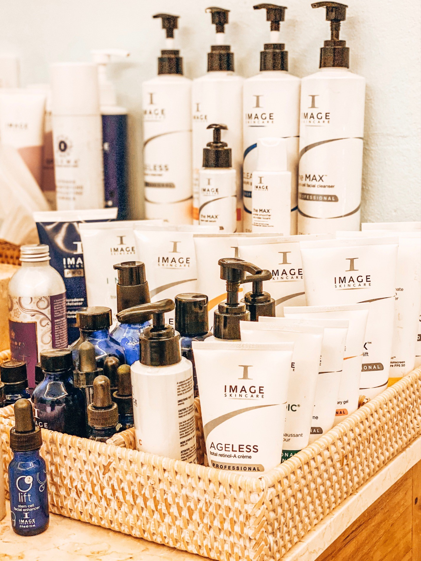 Image Products in the Image O2 Lift Facial at Spa and Sparkle