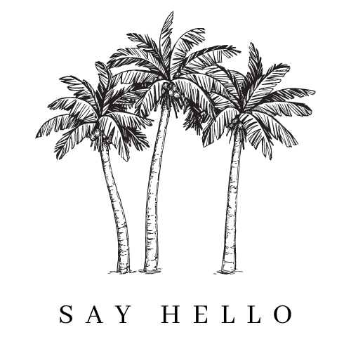 Say Hello - Palm Tree Icon